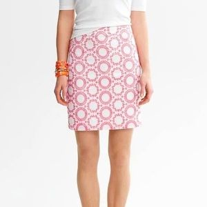 NWOT Banana Republic Milly CircleEmbroidered Skirt